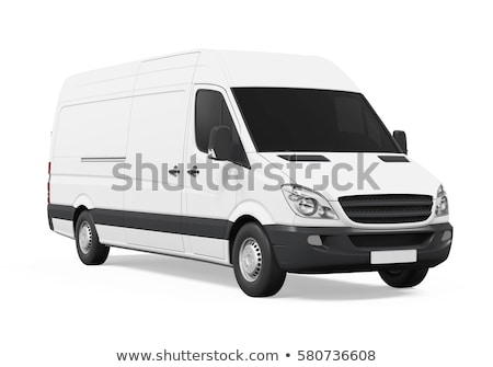 Commercial van isolated Stock photo © Supertrooper