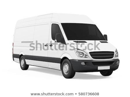 handlowych · pojazd · studio · świetle · działalności · przemysłu - zdjęcia stock © supertrooper