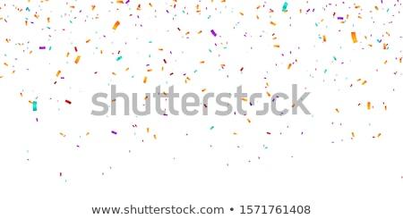 аннотация · падение · конфетти · вектора · текстуры · вечеринка - Сток-фото © burakowski