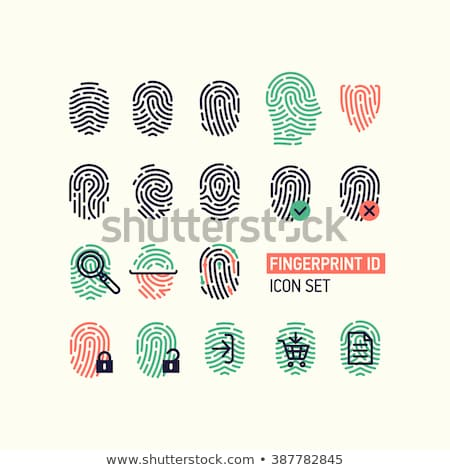Fingerprint Security - Denied Stock photo © axstokes