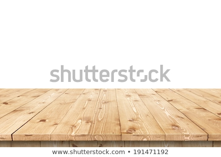 Empty wooden table top for product placement Stock photo © stevanovicigor