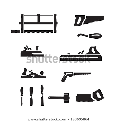 Old planer tool Stock photo © ajt
