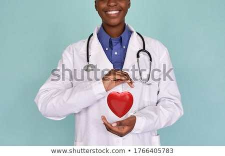 lekarza · kobieta · elektrokardiogram · ekran · dotykowy · działalności · medycznych - zdjęcia stock © dolgachov