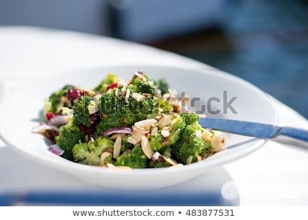 preparation of a dish of broccoli Stock photo © OleksandrO