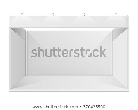 Lege tentoonstelling eerlijke stand ruimte interieur Stockfoto © stevanovicigor