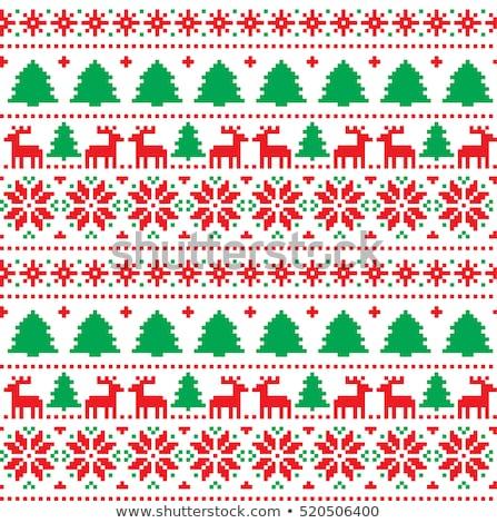 navidad · vector · estilo · blanco · nuevos · diseno - foto stock © Mr_Vector