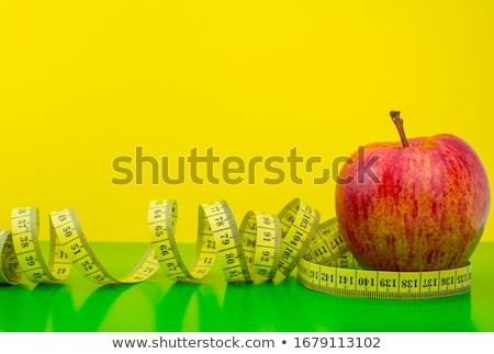 apple measured the meter  Stock photo © compuinfoto