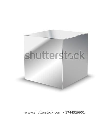 metallic cubes Stock photo © Serp