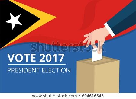 Ballot box East Timor Stock photo © Ustofre9