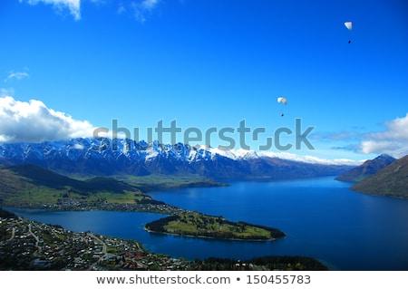 à couper le souffle vue île soleil bleu Photo stock © majdansky