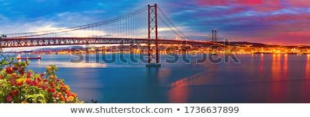 Lisbon landmarks Stock photo © joyr