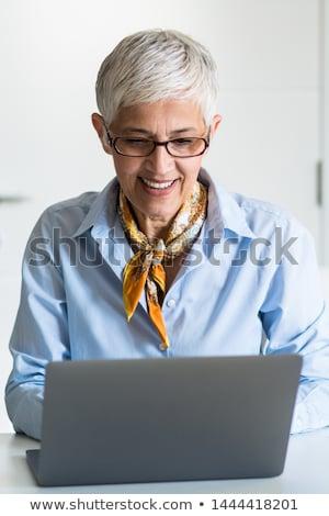 Portrait of senior businesswoman Stock photo © nyul