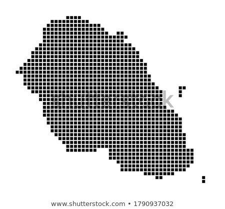 Map of Portuguese Republic with Dot Pattern Stock photo © Istanbul2009