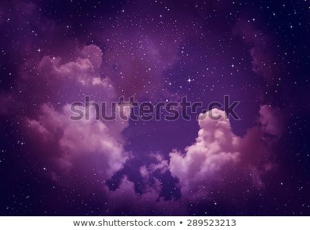 Stockfoto: Sterren · violet · witte · roze · Blauw · lichten