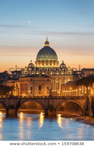 Vatican at sunset, Roma Stock photo © joyr