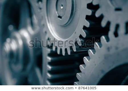 Technological Revival on the Metal Gears. Stock photo © tashatuvango