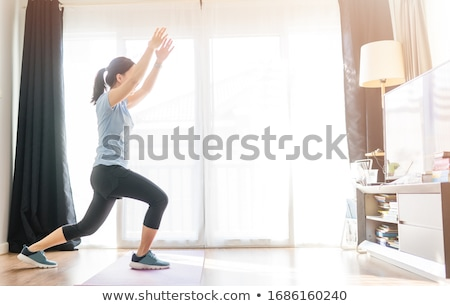 aerobic workout Stock photo © adrenalina
