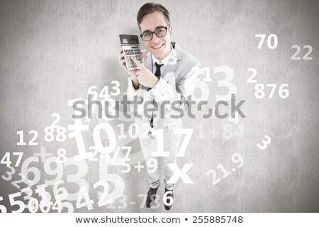 Imprenditore mutui bianco felice Foto d'archivio © wavebreak_media