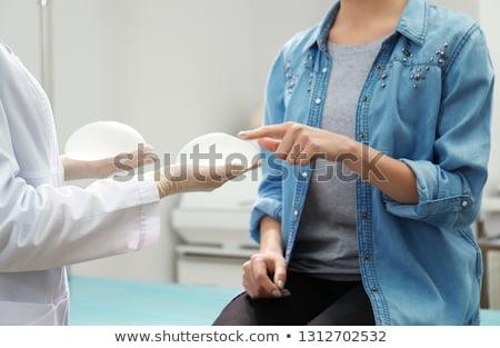 mulheres · escolher · peito · ilustração · saúde · feminino - foto stock © adrenalina
