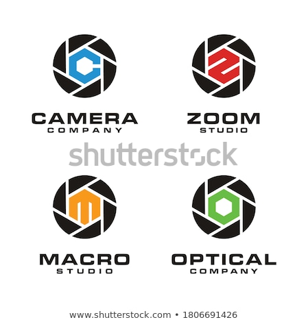 logo · icon · sluiter · oog · ontwerp · vorm - stockfoto © krash20
