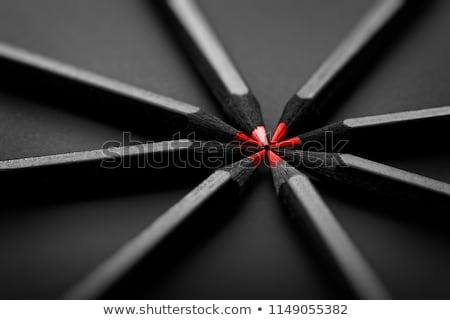 piros · borravaló · fekete · fém · kagyló · stúdió - stock fotó © razvanphotography