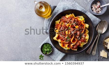 kurczaka · warzyw · selektywne · focus · mięsa · obiad · pie - zdjęcia stock © yelenayemchuk