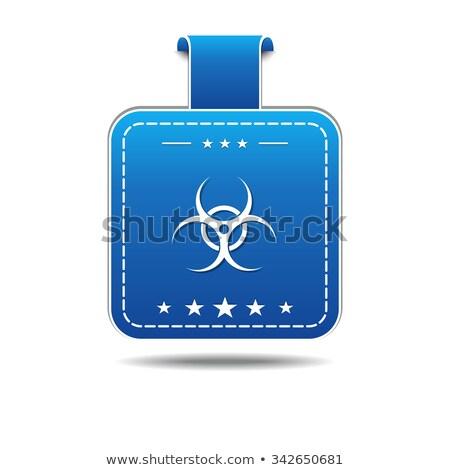 危険標識 · 青 · ベクトル · アイコン · デザイン · デジタル - ストックフォト © rizwanali3d
