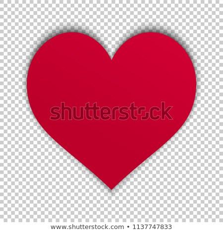 Liebe · Flüssigkeit · Herzform · isoliert · weiß · Wasser - stock foto © tetkoren