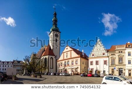 Repubblica Ceca casa costruzione viaggio architettura Europa Foto d'archivio © phbcz