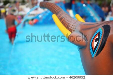 噴水 フォーム おもちゃ 象 プール アクアパーク ストックフォト © Paha_L