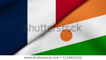 France and Niger Flags Stock photo © Istanbul2009