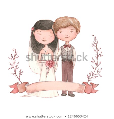 just married loving couple stock photo © studiostoks