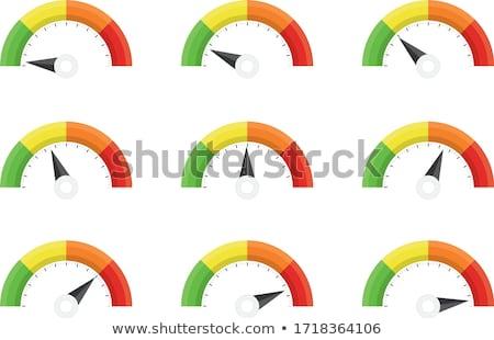 Stockfoto: Dashboard · auto · verlicht · nacht · snelheid · race
