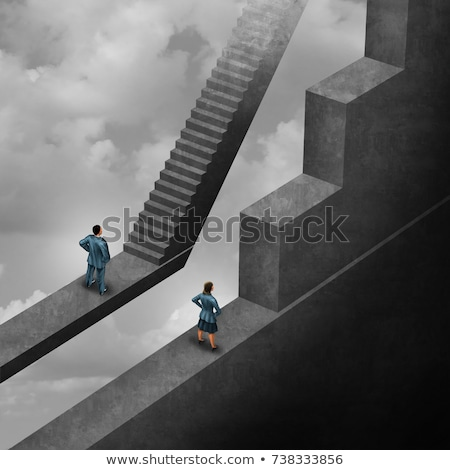 Gender discrimination  Stock photo © shawlinmohd