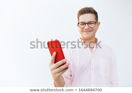 Handsome Man with Hand Outstretched Stock photo © fouroaks