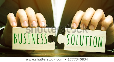 Complete Solution Stock photo © Lightsource