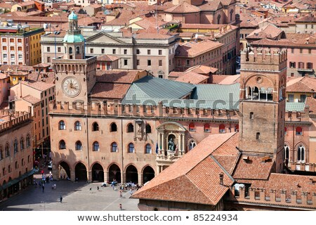 Palazzo Accursio in Bologna, Emilia-Romagna. Italy. Stock photo © Photooiasson