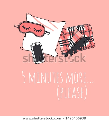 Five more minutes please Stock photo © iodrakon