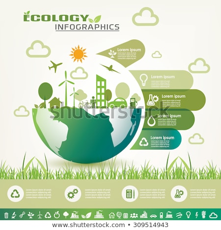Infographics of an environment Stock photo © bluering