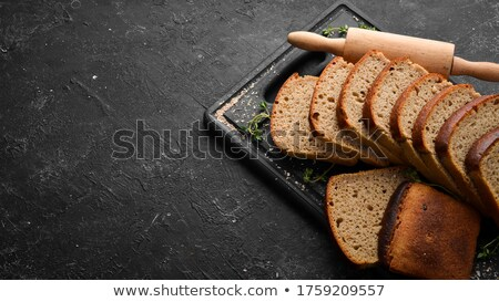 Stock photo: Sliced loaf of bread