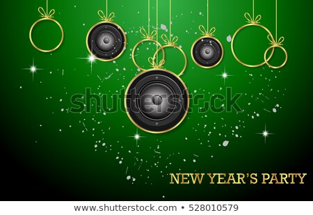2017 Happy New Year Club Party Background for your Seasonal Dance Event Stock photo © DavidArts