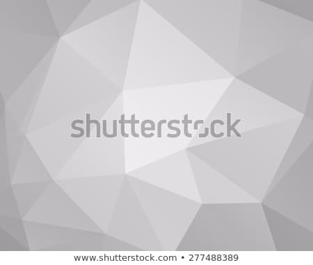 Abstract grey triangle background, low poly design. Polygonal style. For web and mobile app backgrou Stock photo © JeksonGraphics