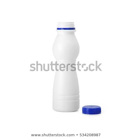 Krém fehér kinyitott üres konzerv termék Stock fotó © cherezoff