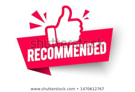Mejor precio sello comercialización acuerdo sello Foto stock © SArts