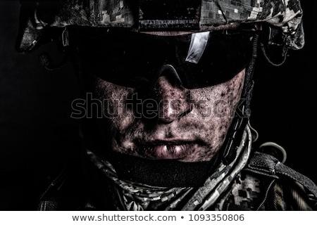 Különleges erők közelkép katonaság katona Stock fotó © grafvision