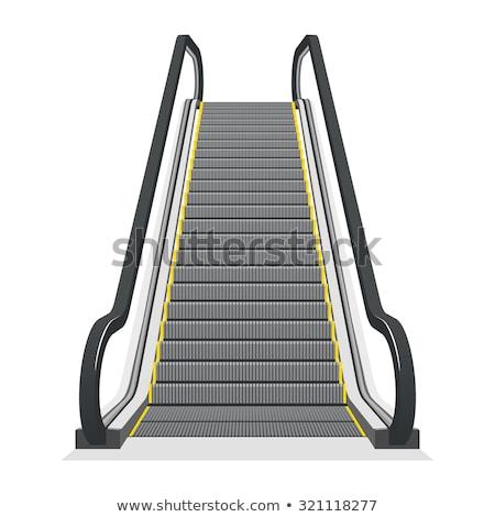 Déplacement escalier escalator modernes affaires architecture Photo stock © stevanovicigor