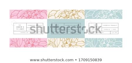 handmade soap with yellow lily  Stock photo © OleksandrO