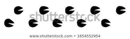 vector flat style illustration of cow stock photo © curiosity
