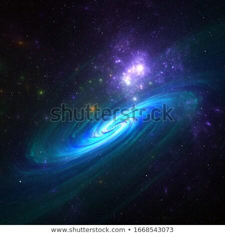 deep space nebula Stock photo © magann
