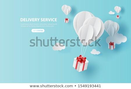 С Днем Рождения шаров ярко цвета слово Сток-фото © Krisdog
